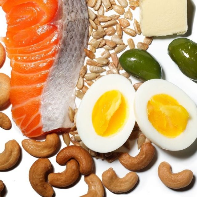 Low fat is officially over! Here are more than a dozen high-fat foods you can and should enjoy as part of your healthy diet.   Health.com