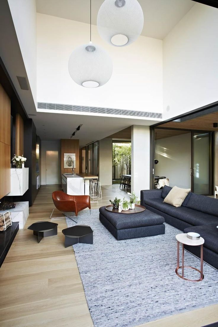 Victorian house colorful interiors for a classy exterior south yarra - Australian Architects Workroom Design Collaborated With Agushi Builders To Create Oban House An Urban House In South Yarra Near Melbourne Australia