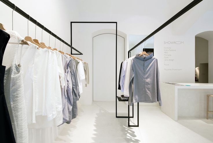 In order to provide an hub for seven designers from various fields of fashion, whose products all complement each other, Zuzana Hartlova designed Showroom, a workshop, design studio and store all in one located in the centre of Prague.