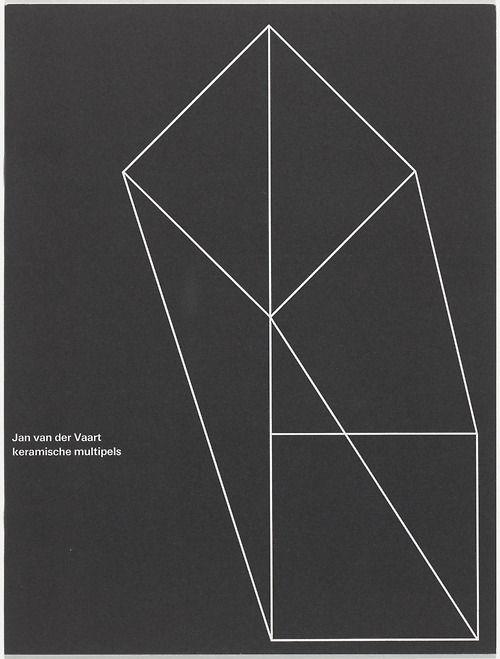 Jan Van Der Vaart Keramische Multiples [Wim Crouwel]