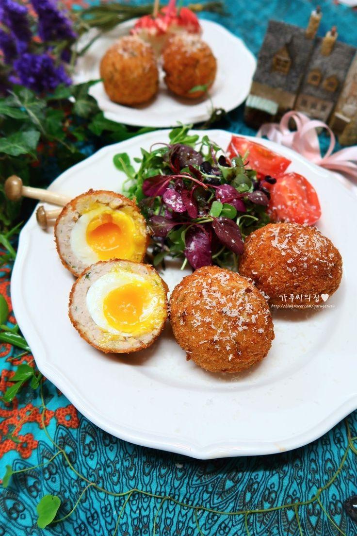 영국 브런치 스카치 에그, 색다른 맛있는 계란 요리
