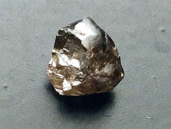 Brown Diamond Crystal Smooth Rough Raw Diamond by gemsforjewels