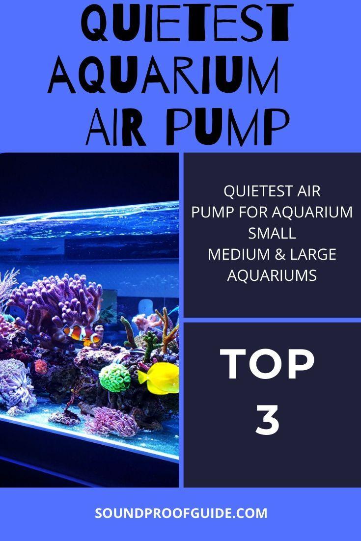 Top 3 Quiet Aquarium Air Pump In 2020 Aquarium Air Pump Aquarium Pump Air Pump