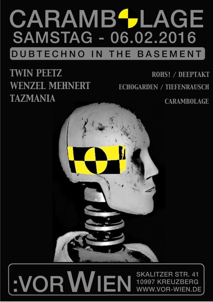 RA: Carambolage - Dubtechno at Vor Wien Cafe & Bar, Berlin
