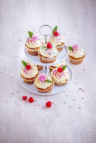 recettes pâtisseries facile cupcakes et crème au beurre framboise