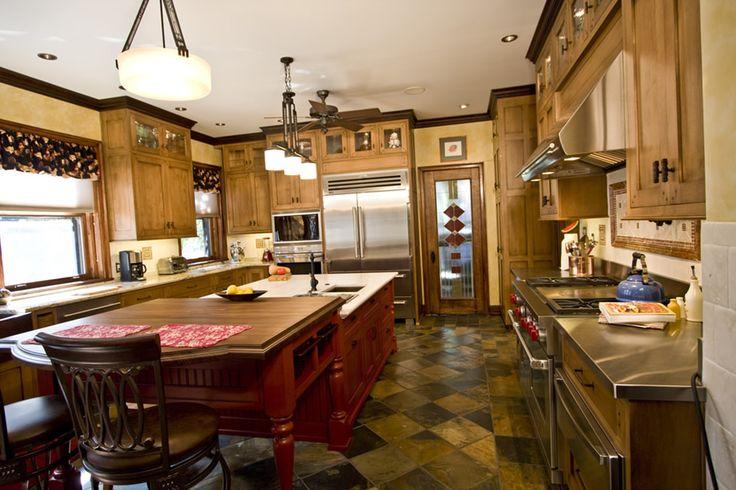 Best 25+ Red kitchen island ideas on Pinterest | Red ...