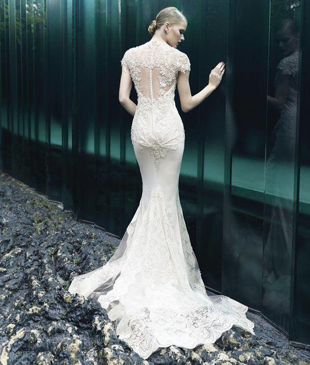 Yolan Cris Wedding Dresses 2014 Bridal Collection. To see more: http://www.modwedding.com/2014/07/10/yolan-cris-wedding-dresses-2014-bridal-collection/ #wedding #weddings #wedding_dress