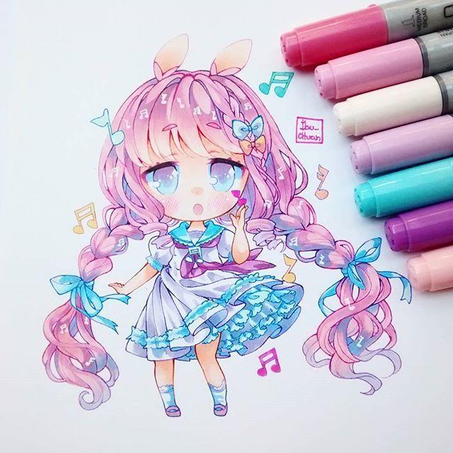 Cute chibi!! ♡