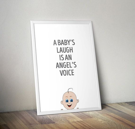 A baby's laugh is an angel's voice neutral by OrangeKiteLabs