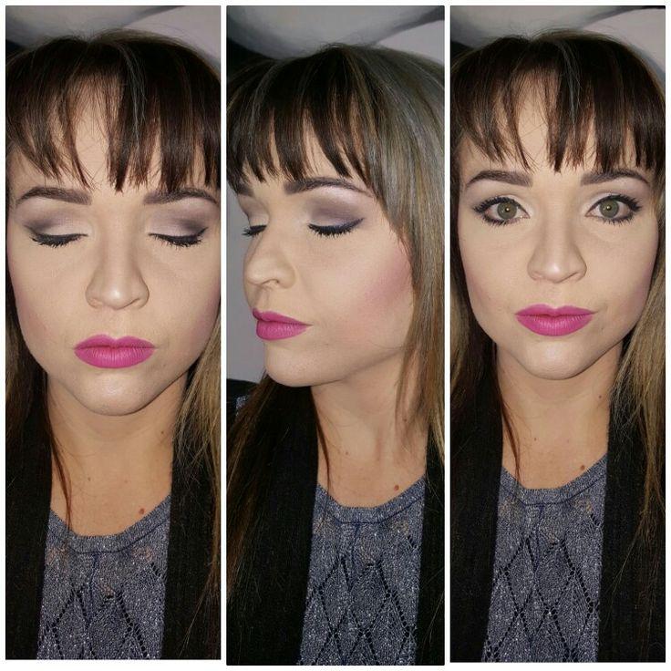 Makeup alila perfect look pink lips