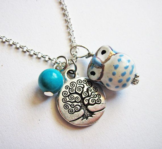 Owl Necklace, Tree of life necklace, Owl Pendant, Owl Jewelry ...1305 x 1200297.6KBwww.etsy.com
