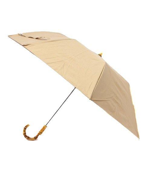 TRADITIONAL WEATHERWEAR(トラディショナル ウェザーウェア)の折りたたみ傘 / バンブー(折りたたみ傘)|ベージュ