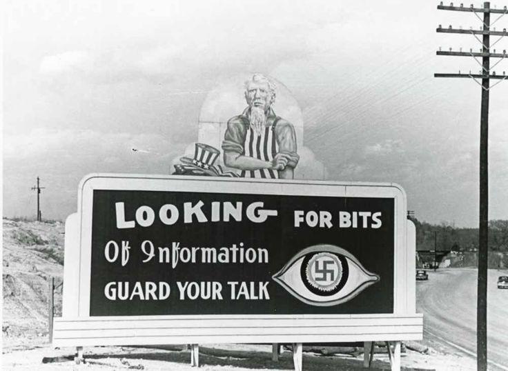 "The Photography of Ed Westcott — Oak Ridge billboard. ""Looking for Bits of..."