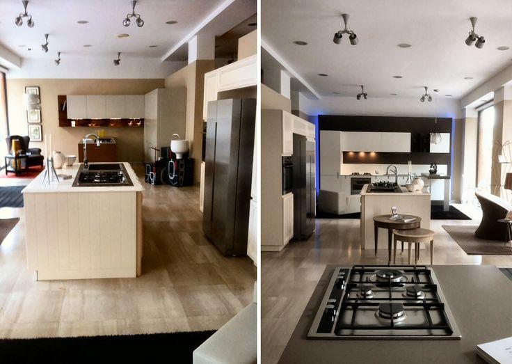 Nuovo allestimento galleria cucine... un grande open space per apprezzare le soluzioni innovative dell'ambiente più importante della casa.
