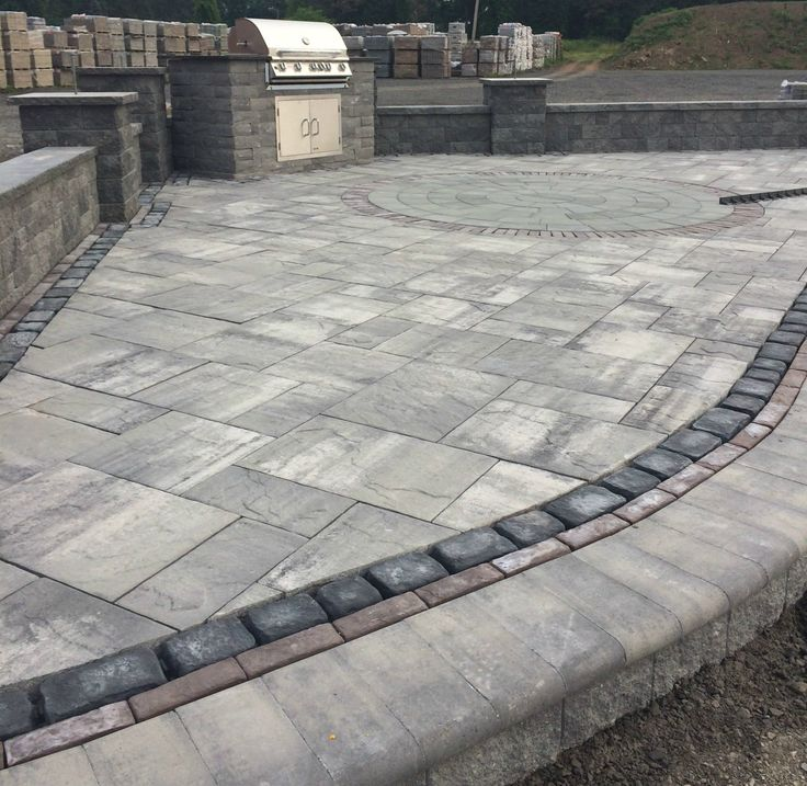 Stone Pavers Slate : Best images about cambridge pavers with armortec