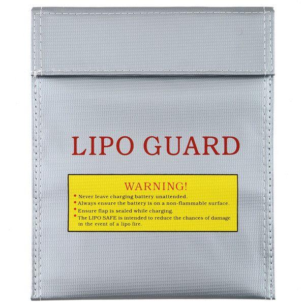 1 Pc Tahan Api RC LiPo Baterai Keselamatan Bag Aman Garda Mengisi Sack 180X230mm Perlengkapan Mandi Kit