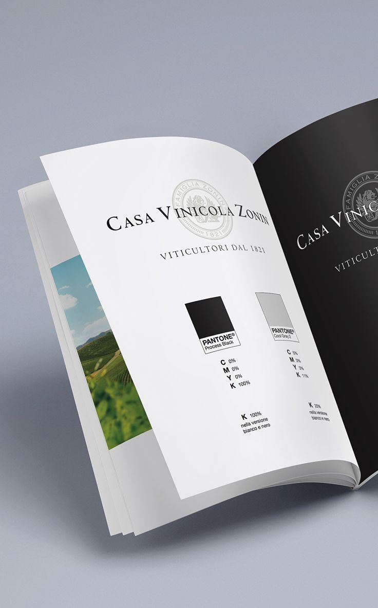 Casa Vinicola Zonin - Brand Manual Design