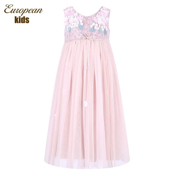Princess Dress Robe Fille 2017 Brand Girls Summer Lace Dress with Bow Children Costumes Kids Party Dresses for Girls Clothes #>=#>=#>=#>=#> Click on the pin to check out discount price, color, size, shipping, etc. Save and like it!