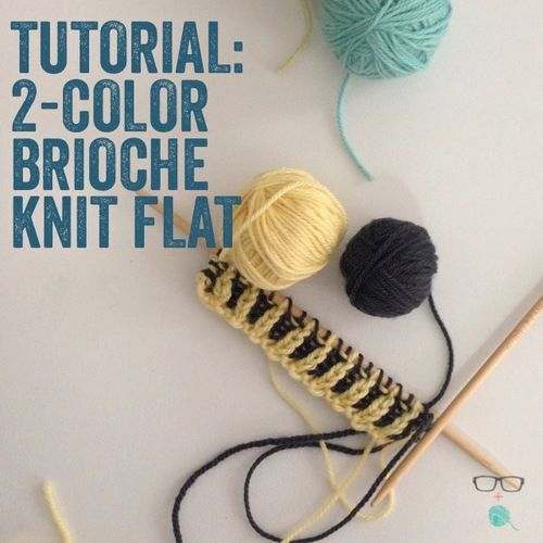 The Single Color Brioche Knit Stitch Is The Starting Point