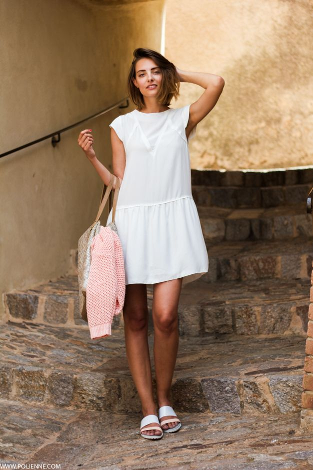 Polienne | a personal style diary: LITTLE WHITE DRESS