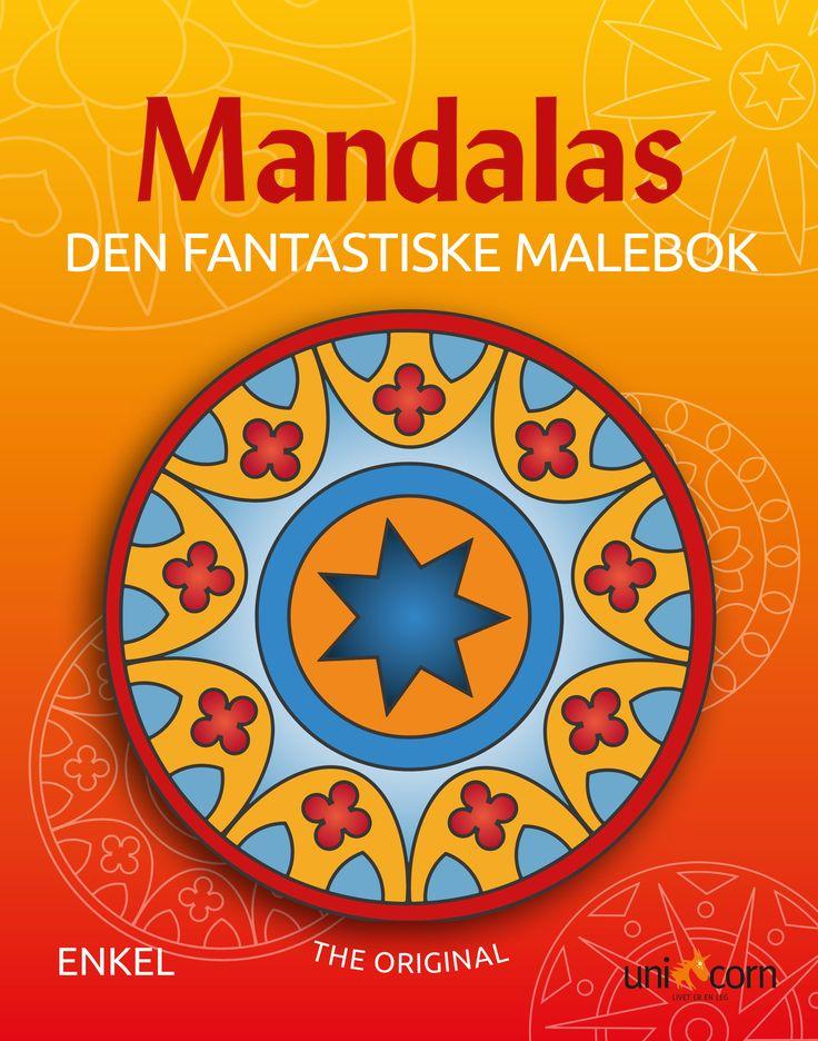 Mandalas Malebok NO Den Fantastiske Malebok  Enkel
