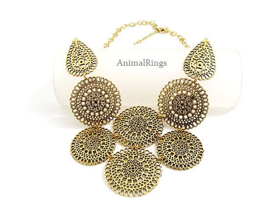 Hey, I found this really awesome Etsy listing at https://www.etsy.com/listing/220138957/bib-necklace-gold-statement-necklace