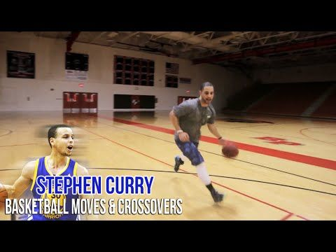 How To- Stephen Curry Crossovers And Moves!!