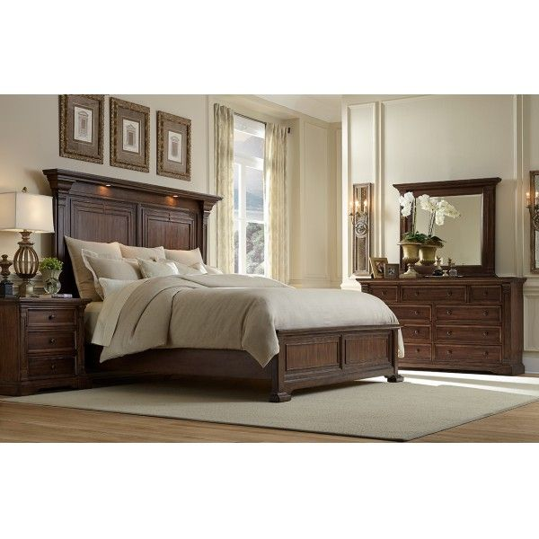 Coventry ii king 4 pc bedroom group oasis star for Bedroom furniture 78745