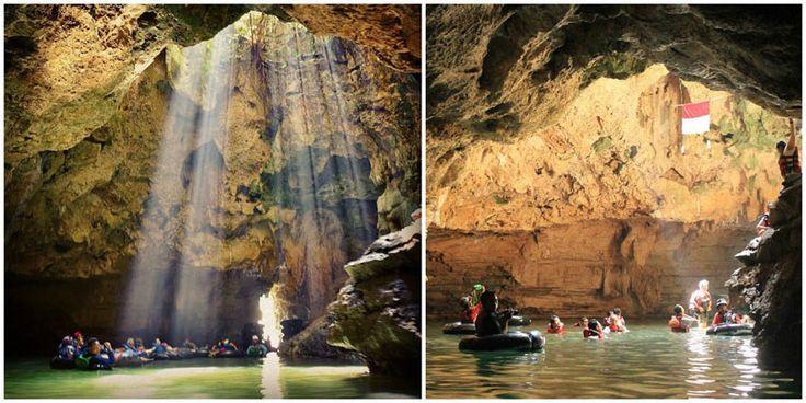 Goa Pindul Cave Tubing yogyakarta indonesia