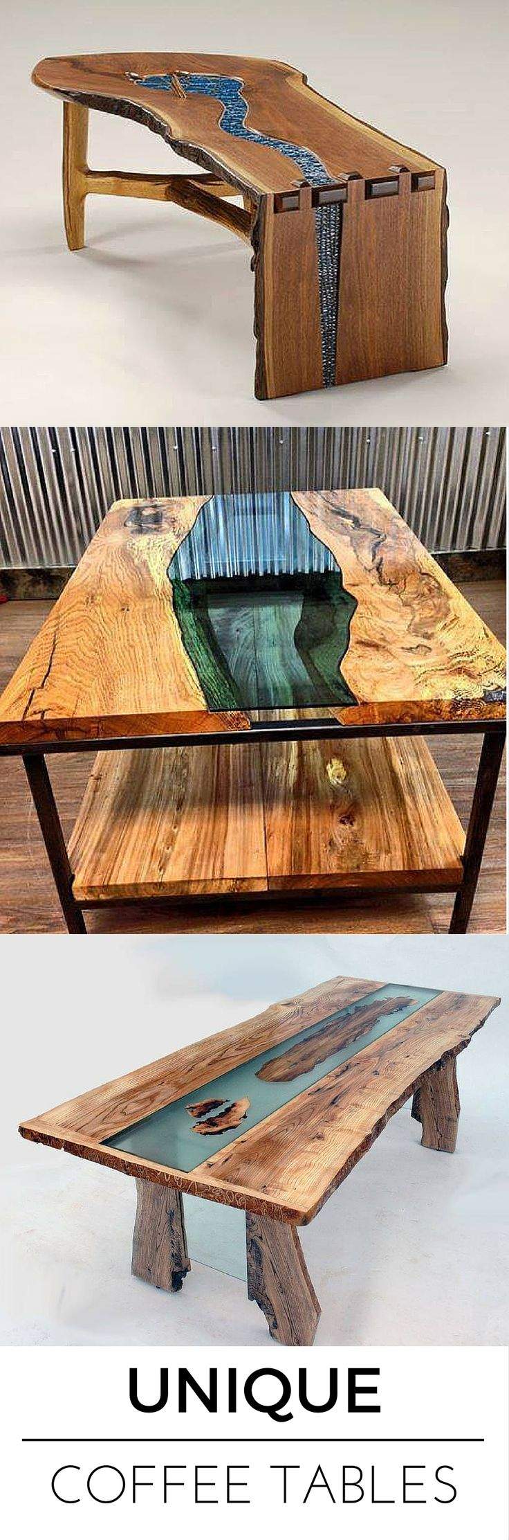 25 Best Unique Coffee Table Ideas On Pinterest