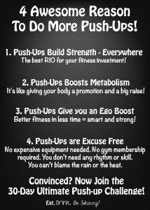 benefits of push-ups