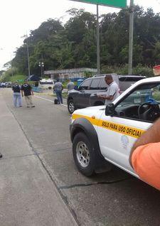Asesinan a dos miembros de la Policía Nacional en autopista ... - Telemetro