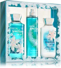 Bath & Body Works fresh sparkling snow 3️⃣