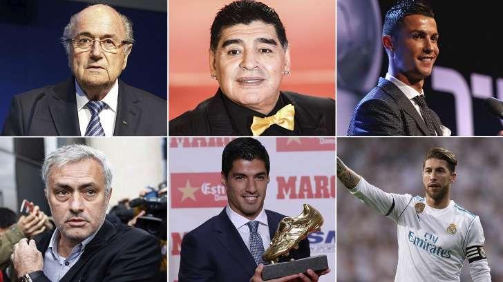 La polémica lista de las 50 personalidades del fútbol más odiadas, según una revista inglesa