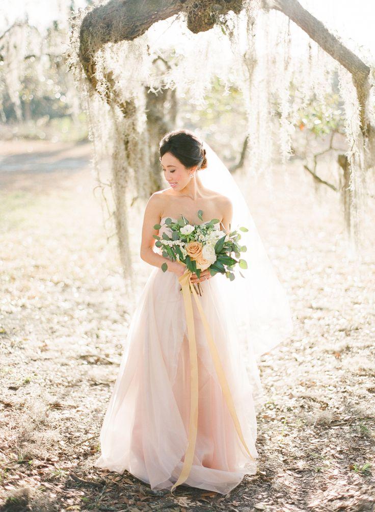 1000 images about southern blush wedding inspiration on for Wedding dress savannah ga