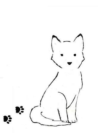 tattoo contorno cachorro - Buscar con Google