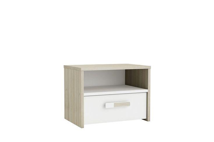 Sängbord Purpur Ek