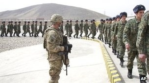Not a coincidence : The Taliban in Afghanistan have suspended preliminary peace negotiations with the United States.