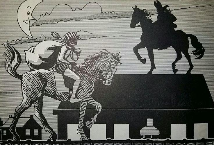 Piet en Sint te paard, illustratie Jr.  80