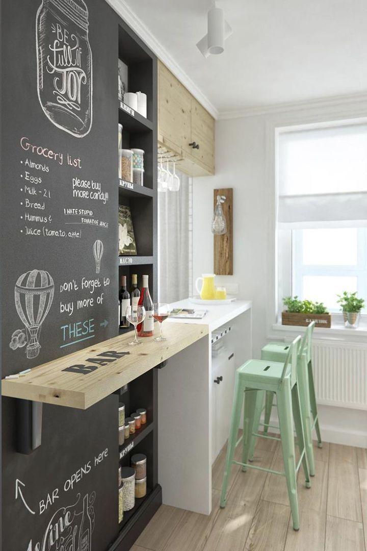 cucina casa piccola | tiny houses nel 2019 | Cucine piccole, Idee ...