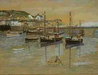 Mousehole, Cornwall  George, William J,  1925=1945