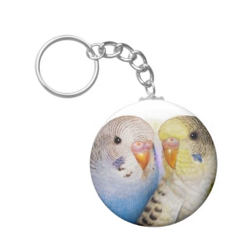 Budgerigars 2 key chain. Available also in different key chain shape and size. #zazzle #petopet #pet #bird #parrot #budgie #parakeet #perruche #parkit #budgies #parakeets #budgerigars #budgerigar #cute #realism #painting #portrait #mug #emmil #deviantart #for #sale #merchandise #keychain