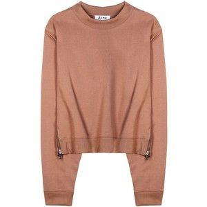 Acne Studios Bird Cotton-Blend Sweatshirt