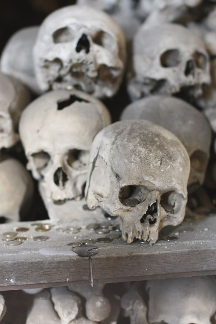 "Sedlec Ossuary, ""Bone Church"", Kutná Hora, Czech Republic, March 2014"