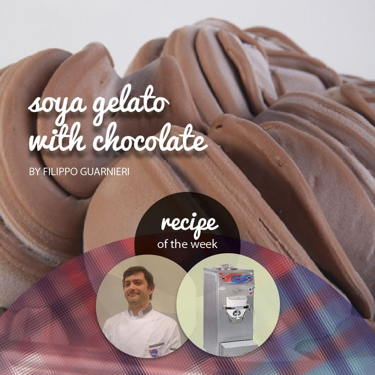 #recipeoftheweekby #FilippoGuarnieri:  #soya#gelatowith #chocolate, made with #Trittico  https://www.facebook.com/BRAVOSPA/photos/p.943418035675186/943418035675186/?type=1&theater