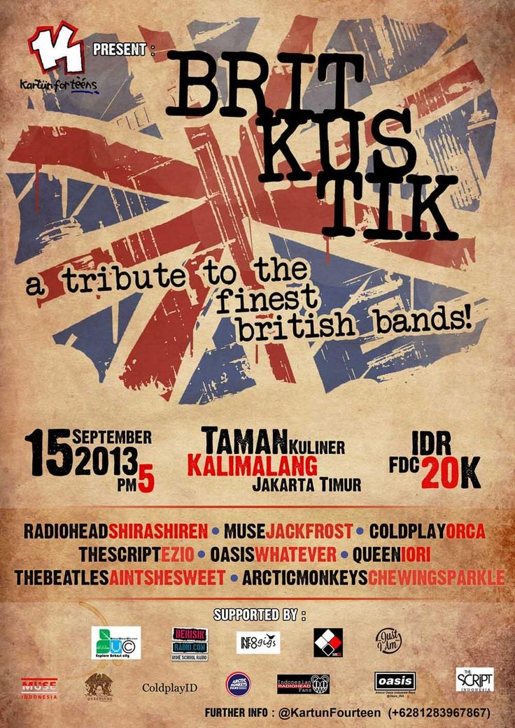 #BritKustik A Tribute To The Finest British Bands