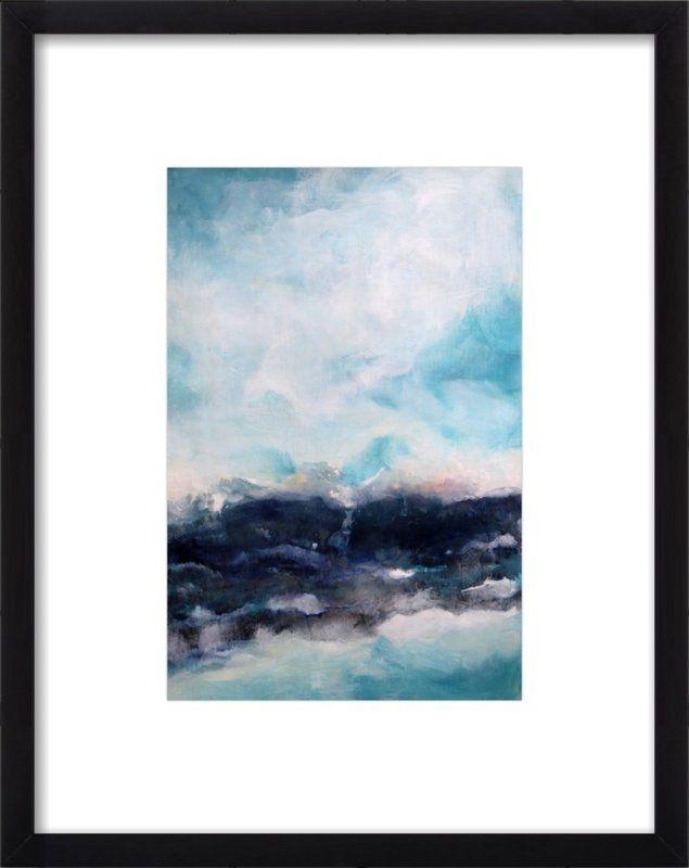 Littoral Zone Framed Giclee Print, Artfully Walls