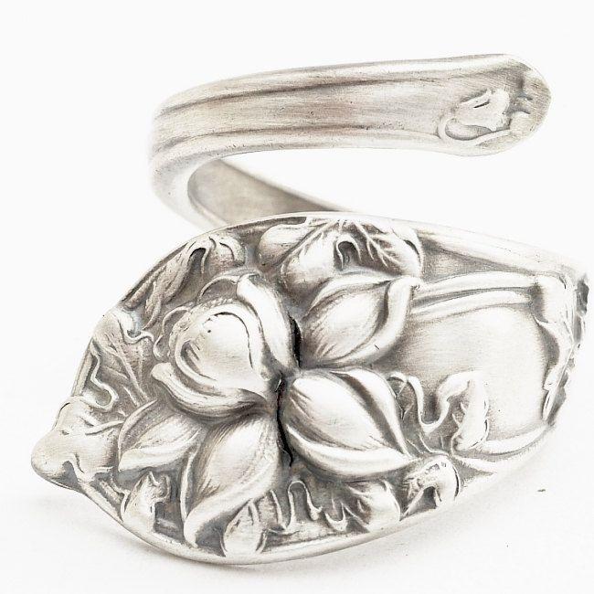 Spoon Rings Rock!: Jewlery, Spoon Rings, So Pretty, Rings Rocks, Spoons Rings, Jewelry, Wedding Rings, Heart Spoons, Ems