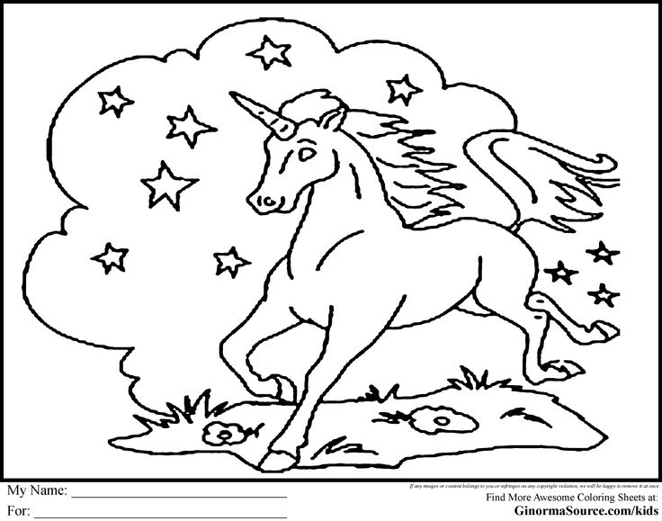 Printable Unicorn Coloring Pages For Adults : 40 best unicorns! images on pinterest
