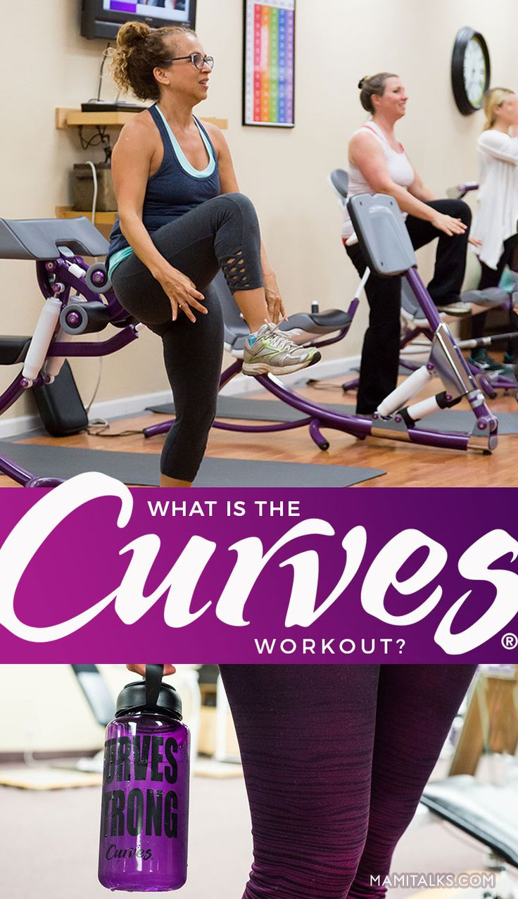What is the Curves Gym workout? My experience trying out Curves for the first time. -MamiTalks.com #AD